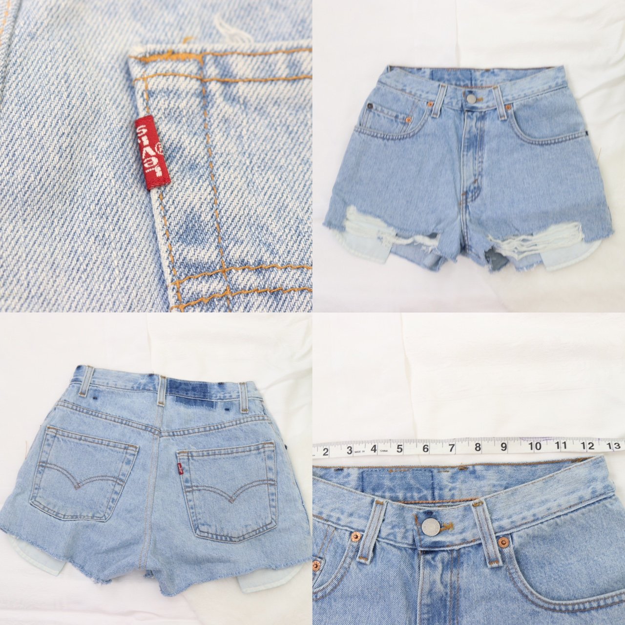 Levi's- Vintage High Waisted Reworked Shorts