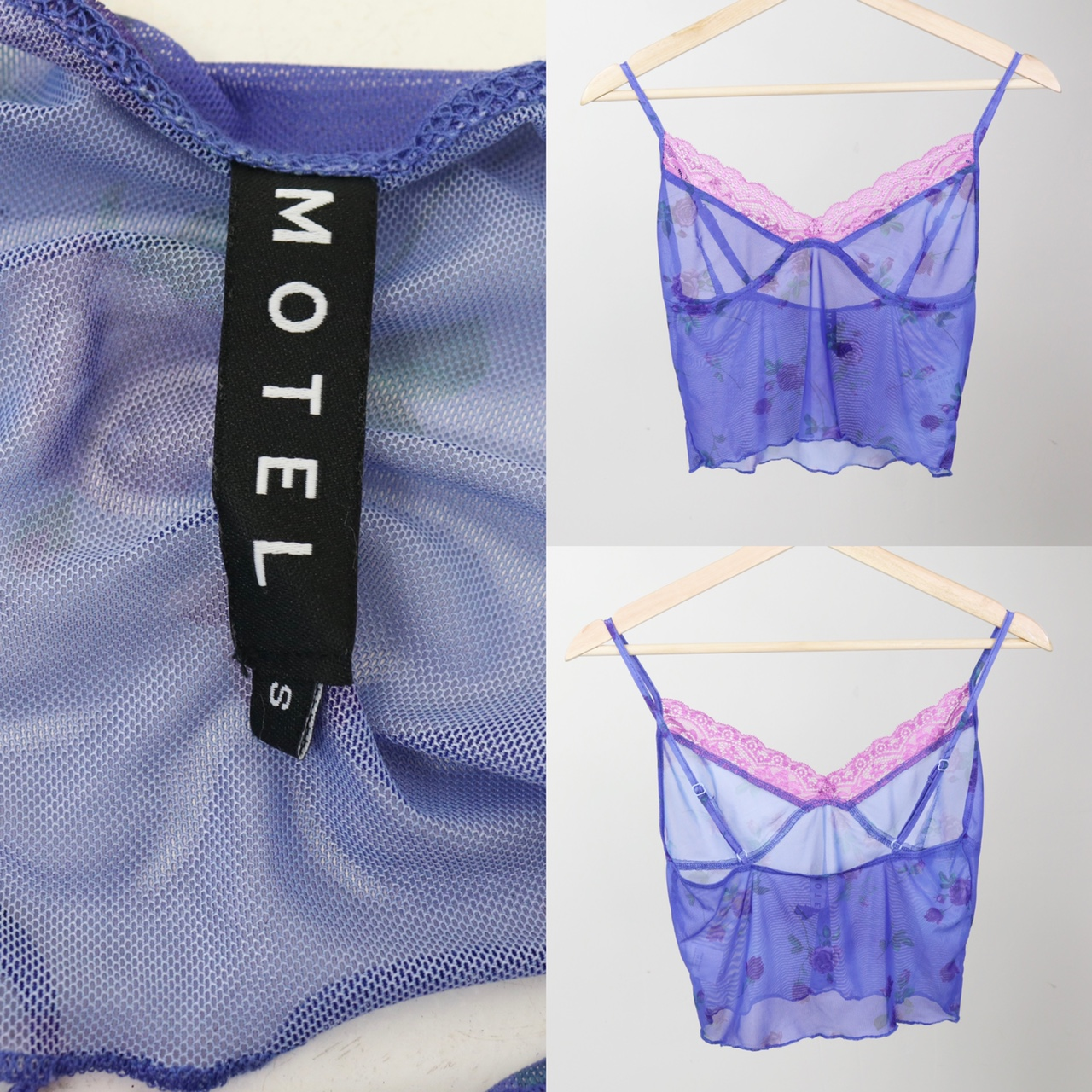 Motel Rocks - Lilac Rose with Lilac Lace Yenika