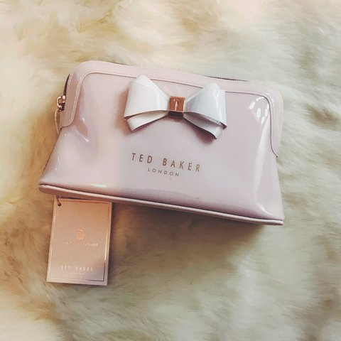 87b8d52ce4ced Ted Baker Aimee makeup bag brand new with tags RRP £27 🎀 - Depop