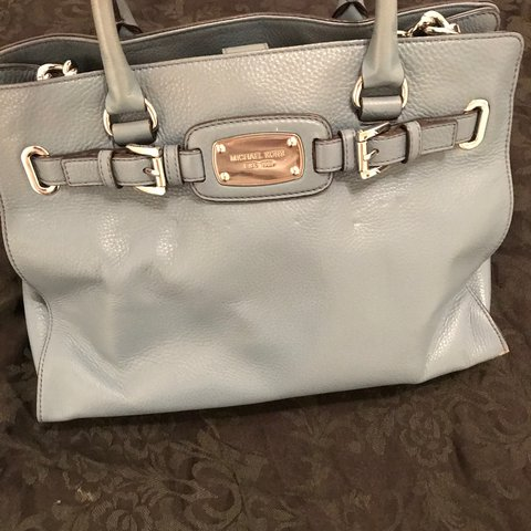 1472207c5a38 Genuine Michael Kors blue bag purchased in New York. Barely - Depop