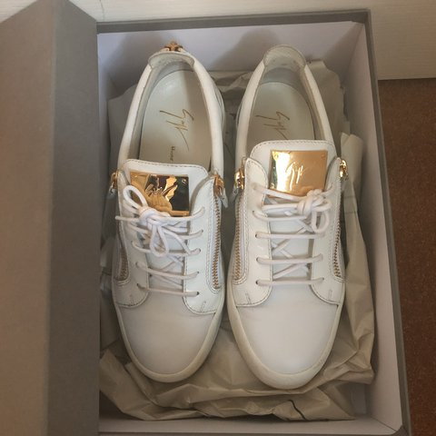 85a103c14d768 Giuseppe Zanotti trainers size UK8(42) - Can easily fit a as - Depop