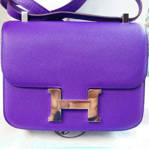 100 authentic brand new hermes constance 24 crocus color stamped p any interested please pm depop