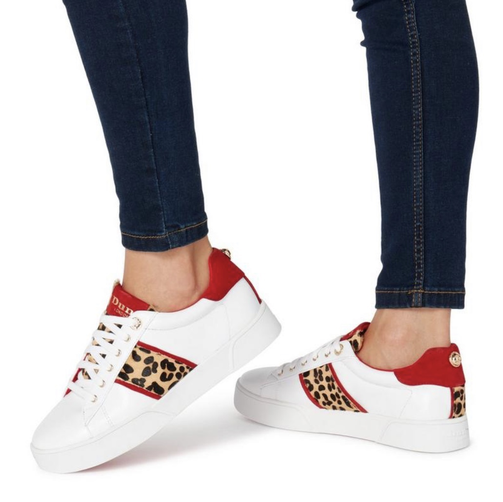 Elsie leopard print trainers from Dune