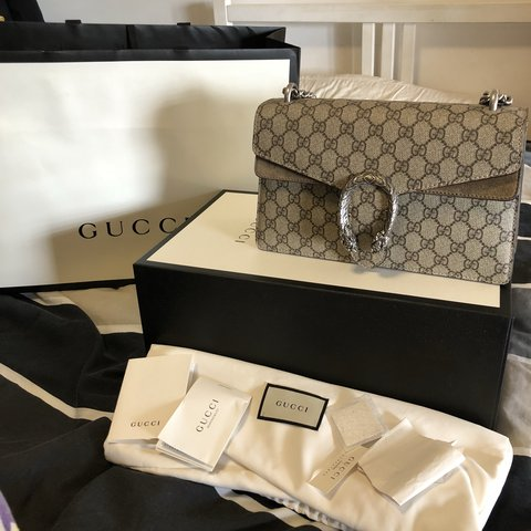 d9397ad50a8  nicolarafaela. last year. Australia. GUCCI DIONYSUS SHOULDER BAG IN SMALL.  Perfect pristine condition ...