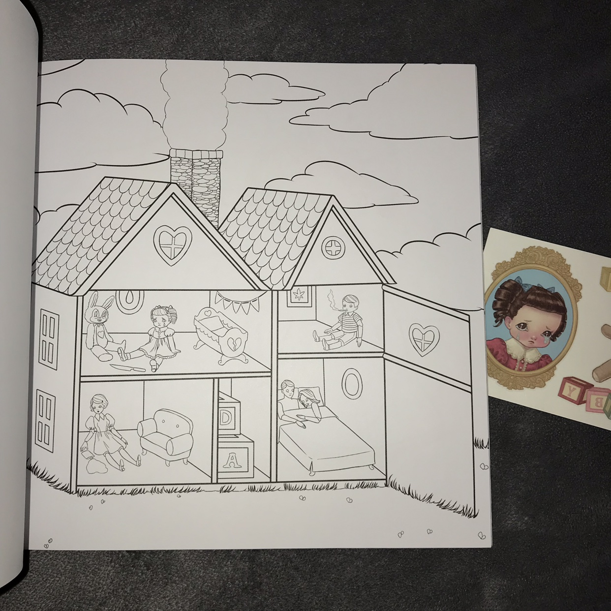- Brand New Melanie Martinez Cry Baby Coloring Book... - Depop