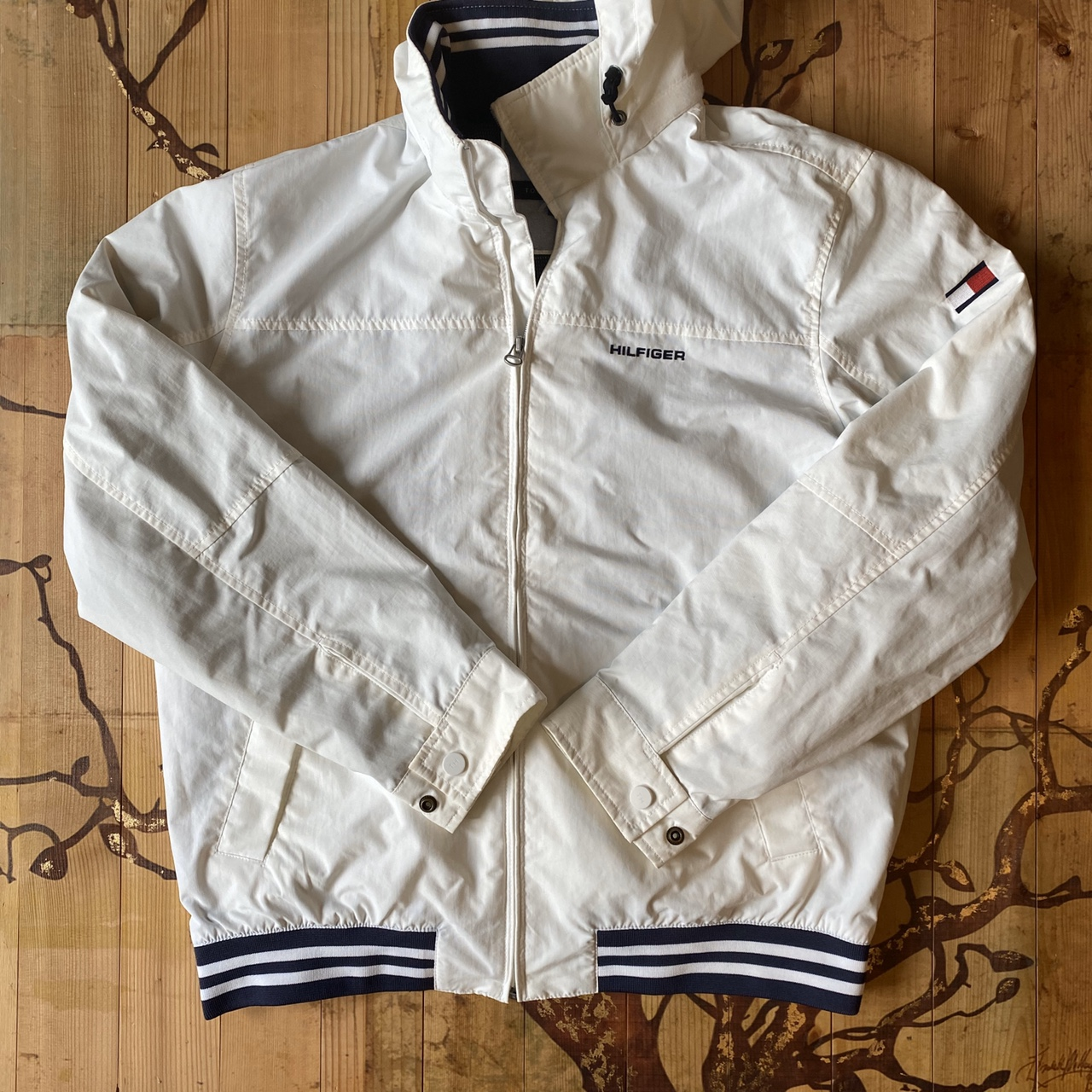 Product Image 1 - TOMMY HILFIGER Windbreaker jacket with