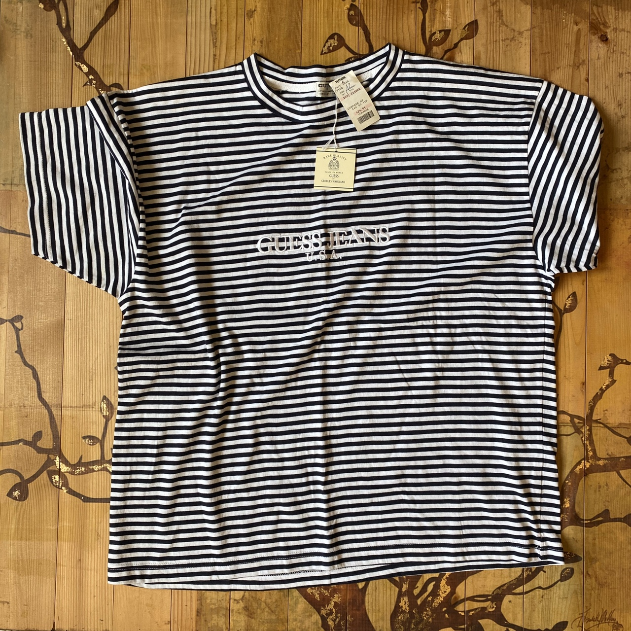 Product Image 1 - Vintage guess striped tee Trust me