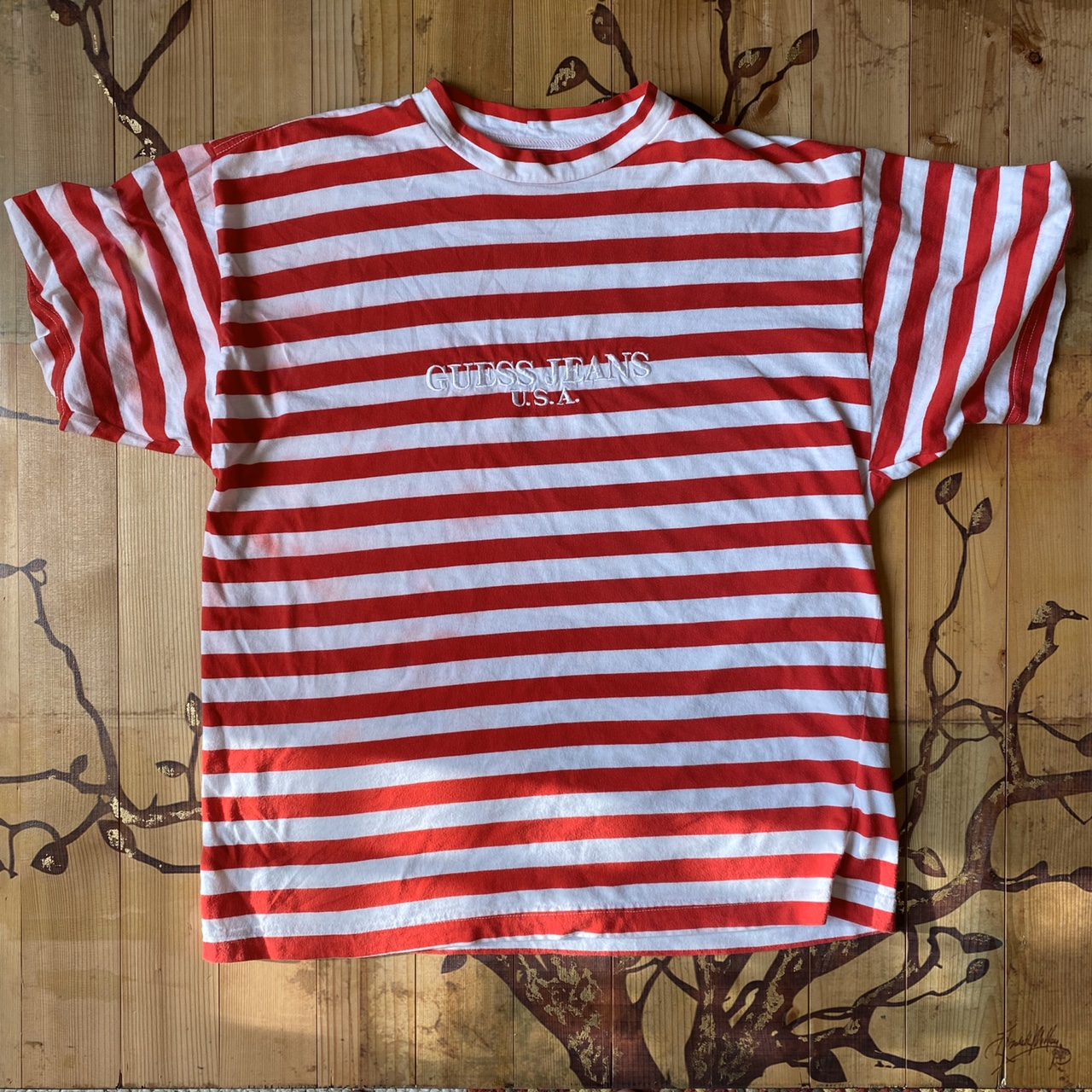Product Image 1 - Vintage guess striped shirt candy