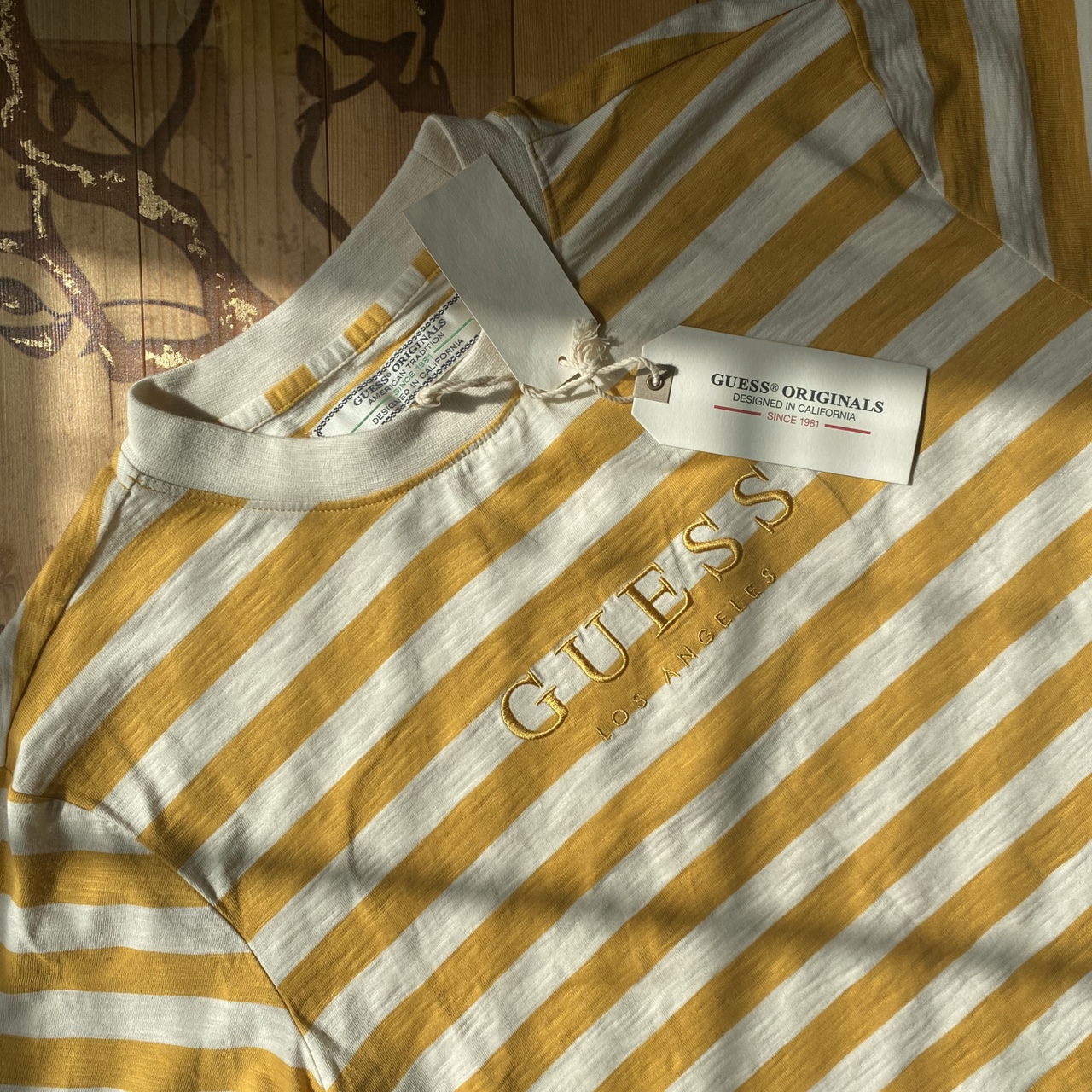Product Image 1 - Guess golden stripe shirt New with