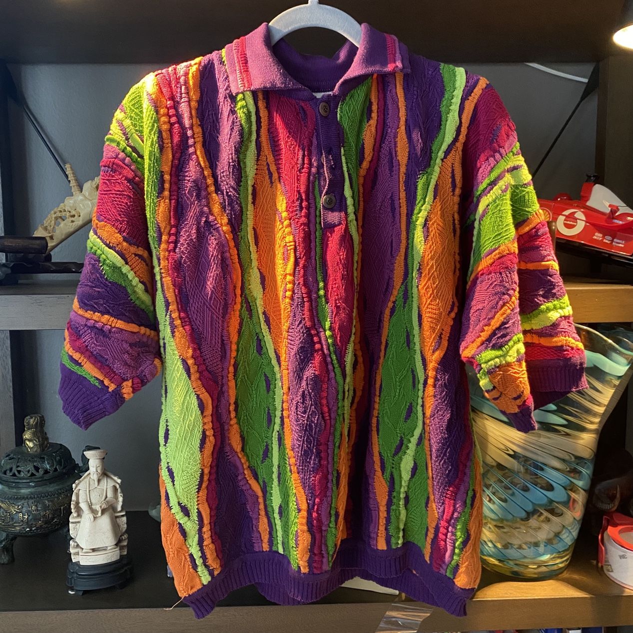 Product Image 1 - Sexy colorblock coogi sweater short