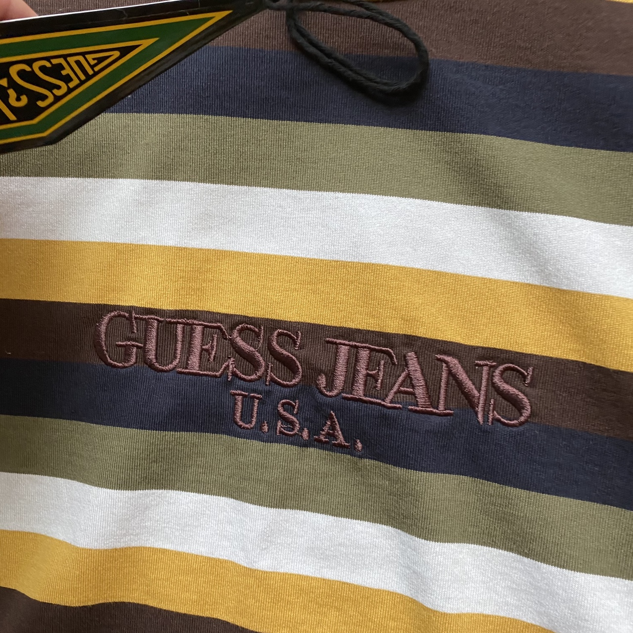 Product Image 2 - VERY rare guess striped tee