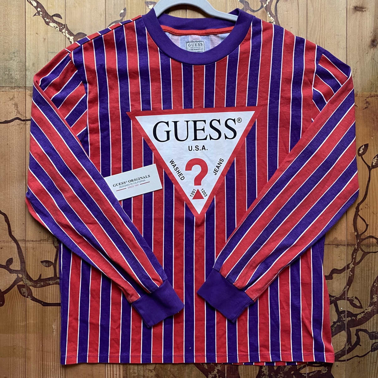 Product Image 1 - Super cool guess striped shirt