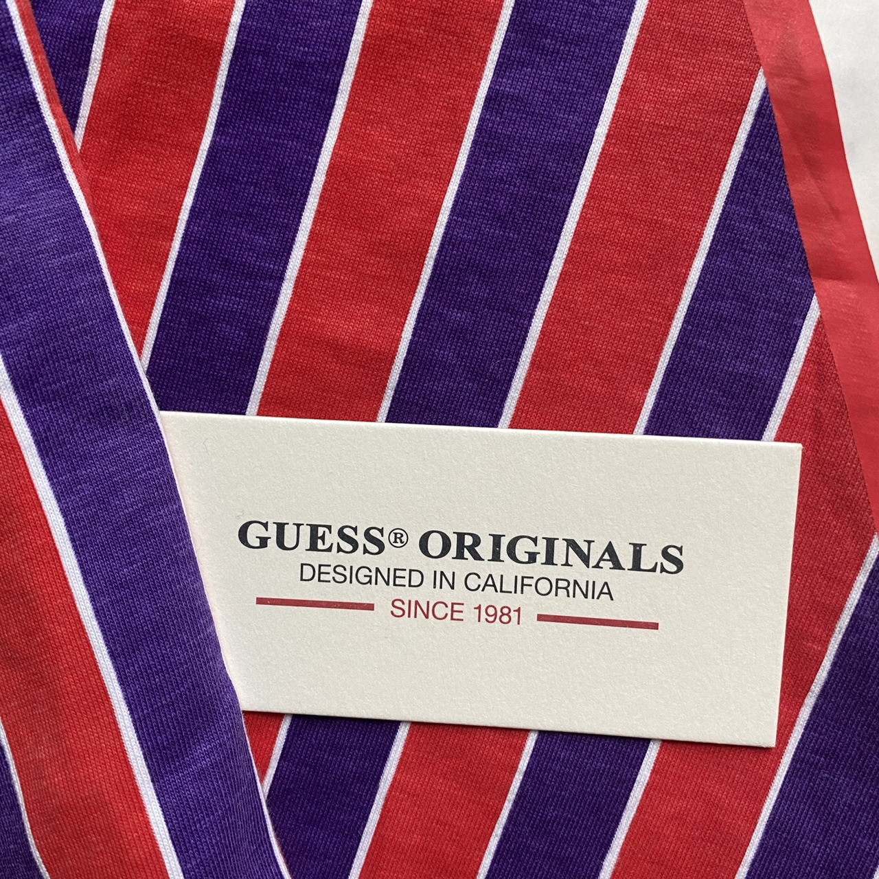 Product Image 4 - Super cool guess striped shirt