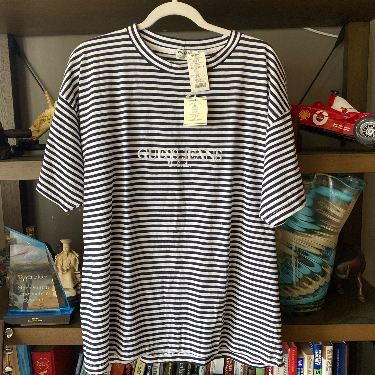 Product Image 2 - Vintage guess striped tee Trust me
