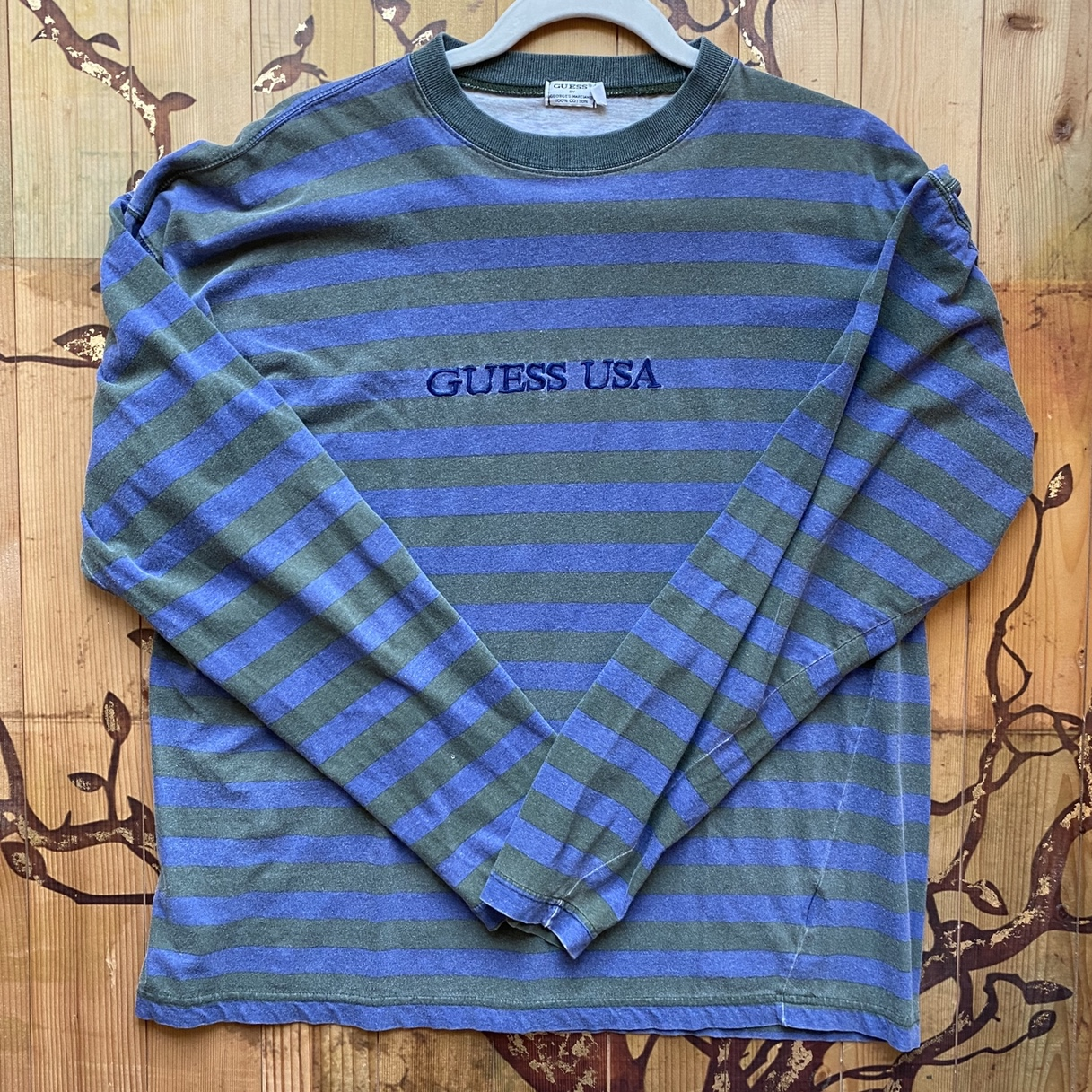 Product Image 1 - Vintage guess striped tee Crazyyyyy never