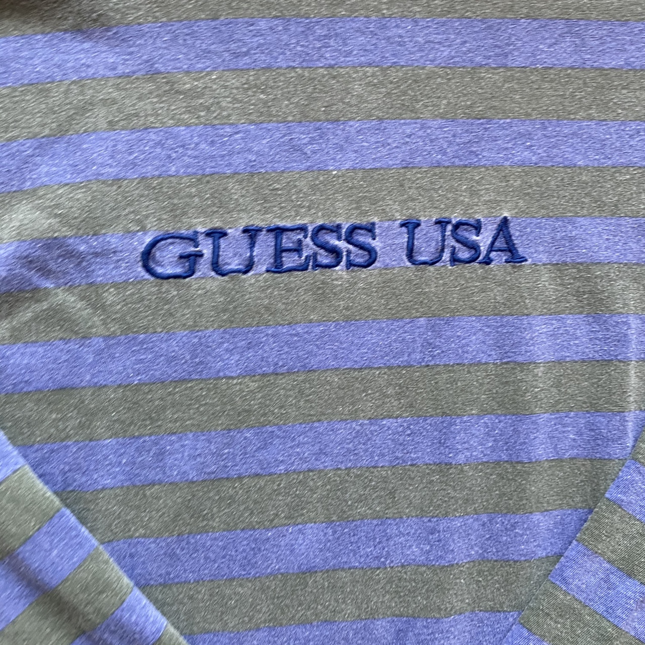Product Image 2 - Vintage guess striped tee Crazyyyyy never