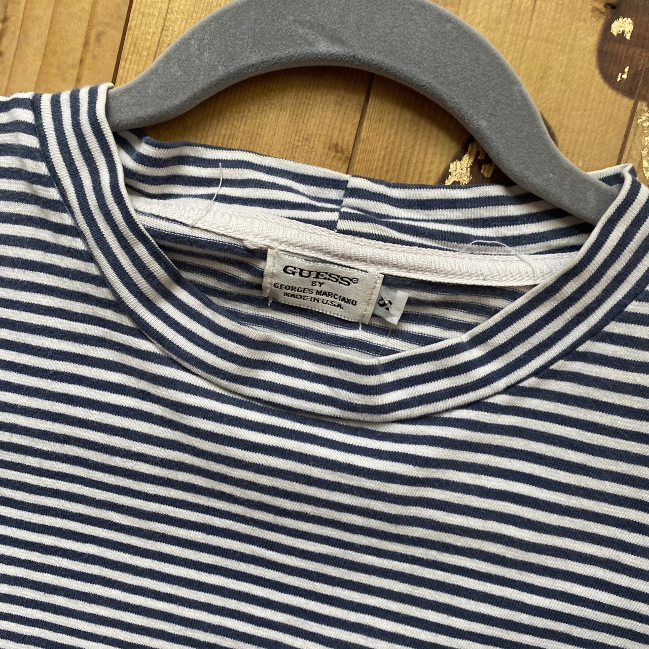Product Image 3 - Vintage guess striped tee Crazyyyyy never