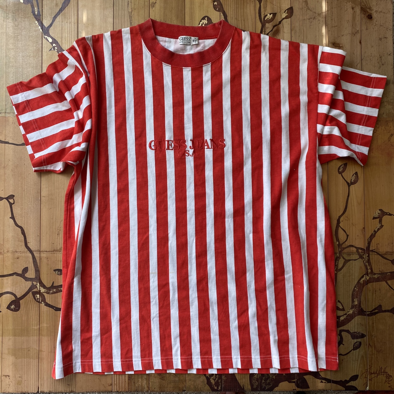 Product Image 2 - Vintage guess striped shirt  THIS