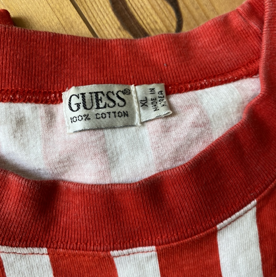 Product Image 4 - Vintage guess striped shirt  THIS
