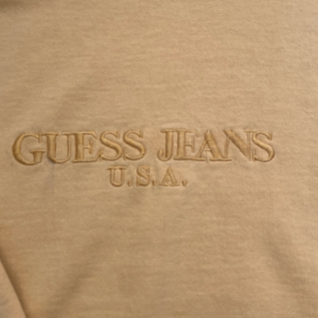 Product Image 2 - Vintage guess sweatshirt Authentic Yellow and