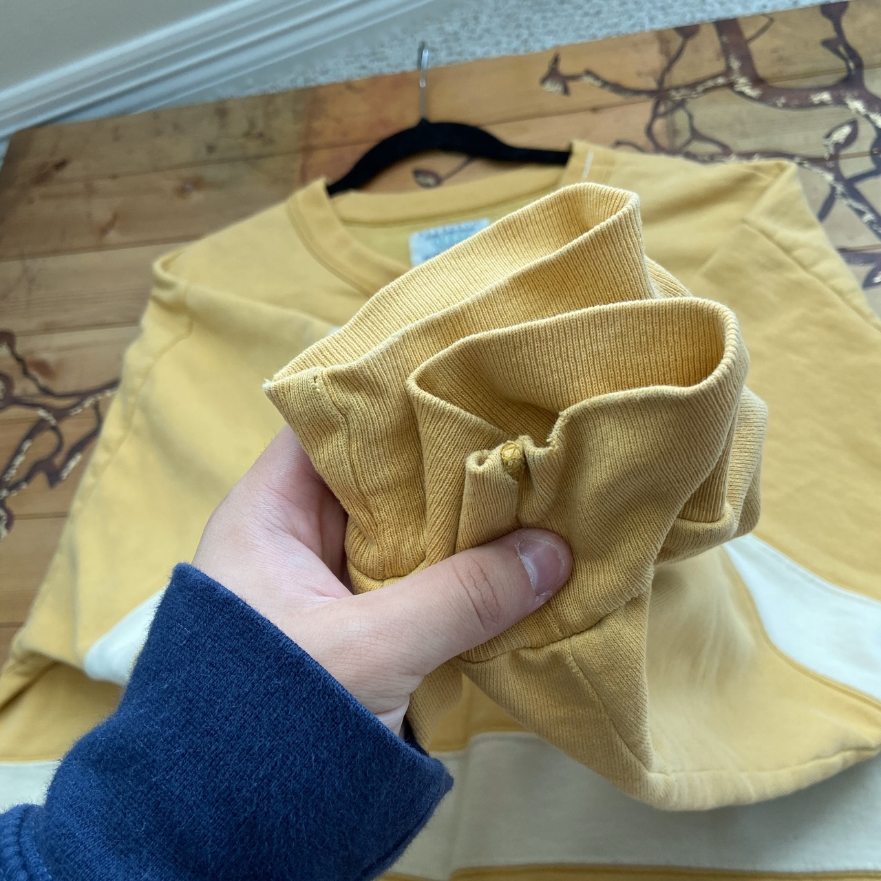 Product Image 4 - Vintage guess sweatshirt Authentic Yellow and