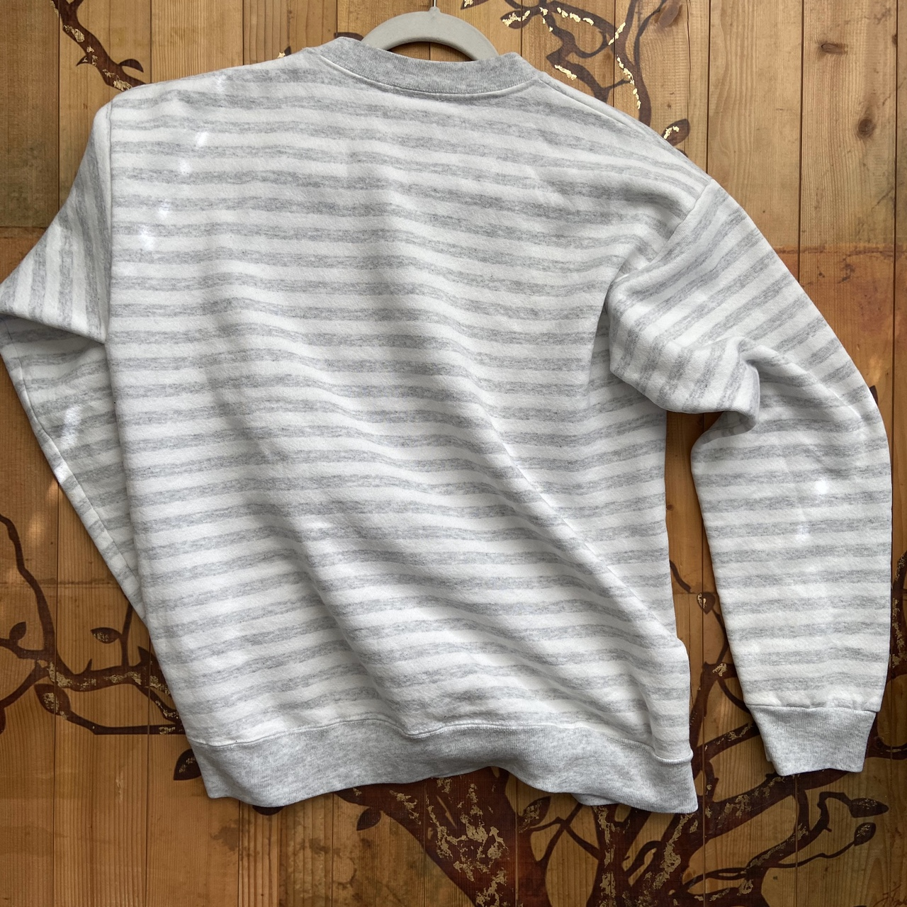 Product Image 4 - Vintage guess sweatshirt White striped design