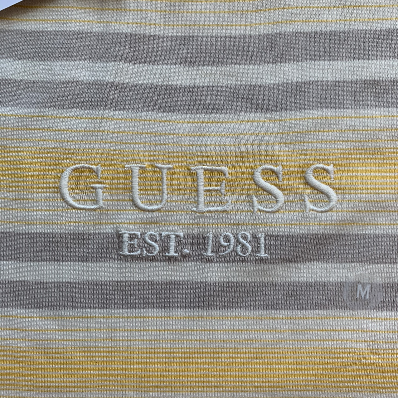 Product Image 2 - Tan and Grey stripped Guess