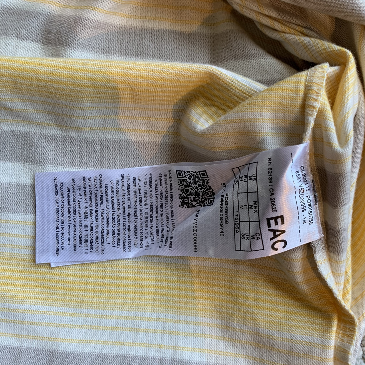 Product Image 4 - Tan and Grey stripped Guess