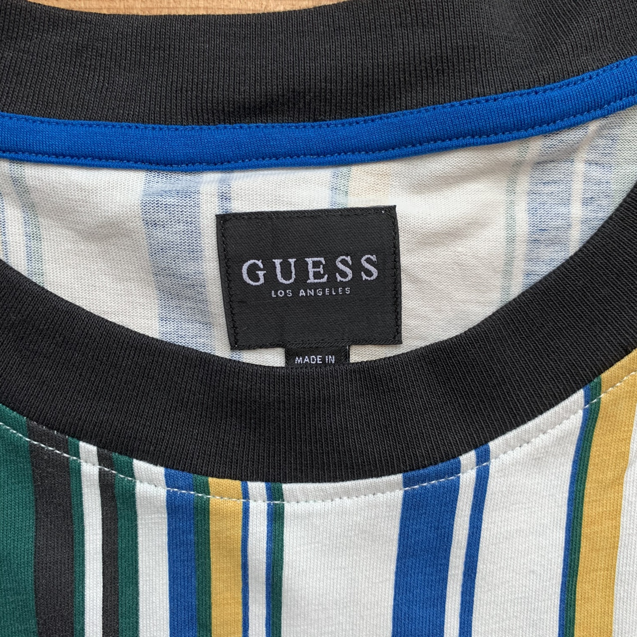 Product Image 3 - Beautiful guess striped tee #streetwear #vintage