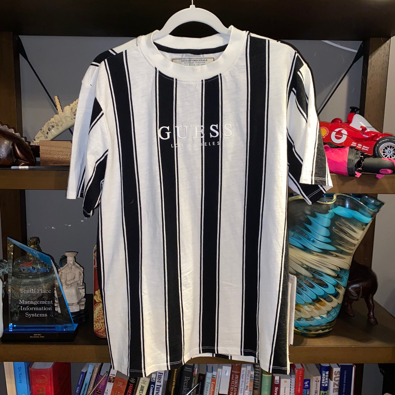 Product Image 2 - Guess striped shirt vintage  Basically