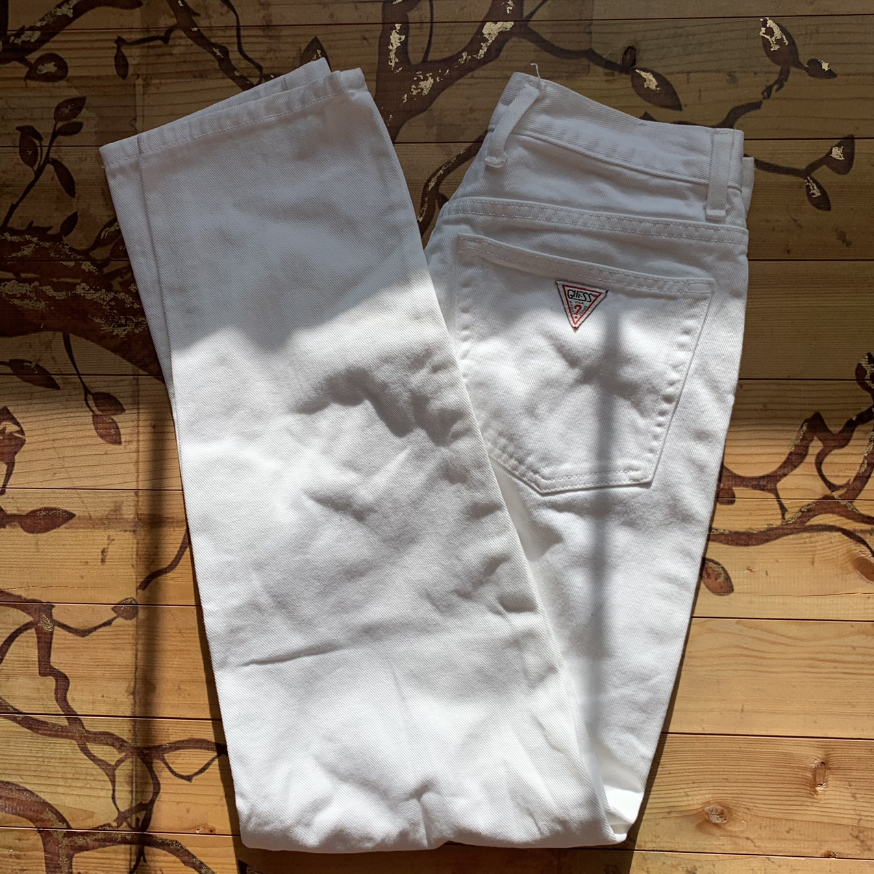 Product Image 1 - White Clean Guess Jeans Excellent Condition