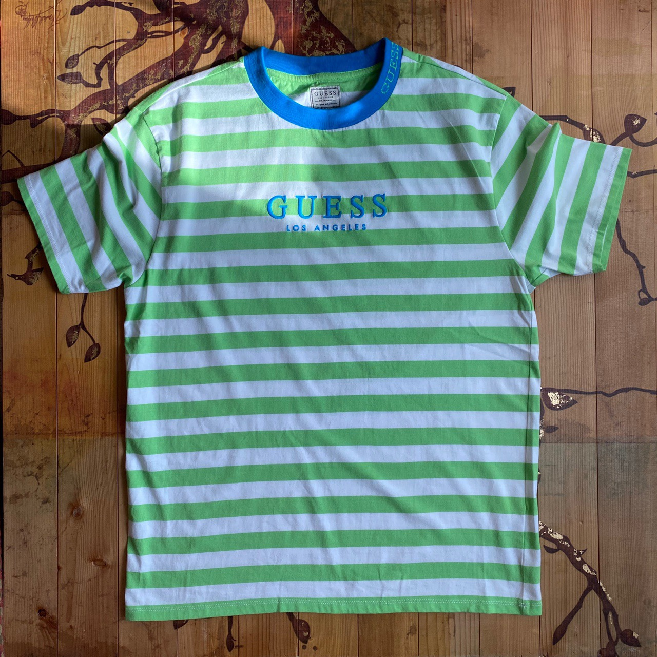 Product Image 1 - Guess Green and White striped