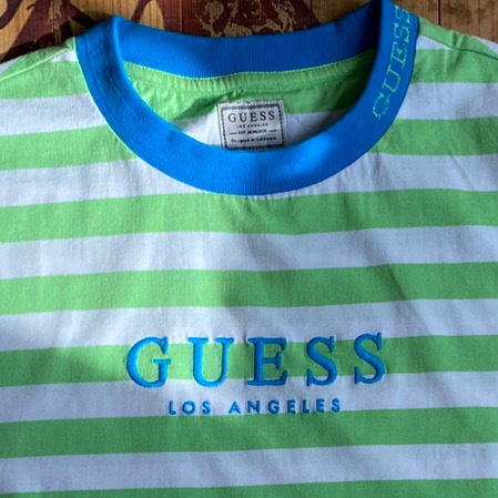 Product Image 2 - Guess Green and White striped