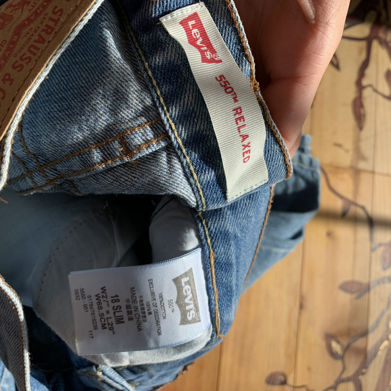 Product Image 4 - Relaxed Blue Wash Levi's perfect condition