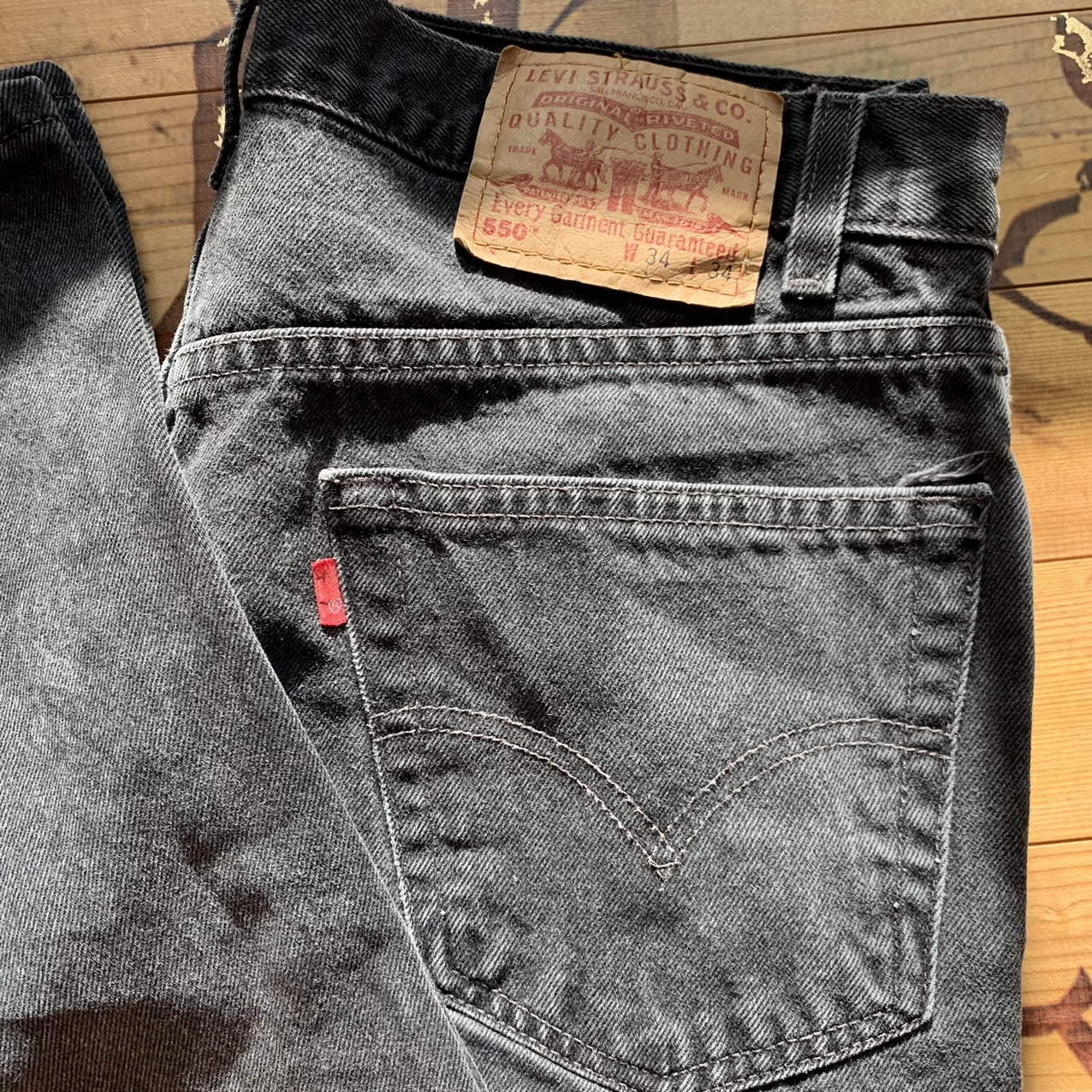 Product Image 2 - Relaxed Black Wash Levi's almost brand