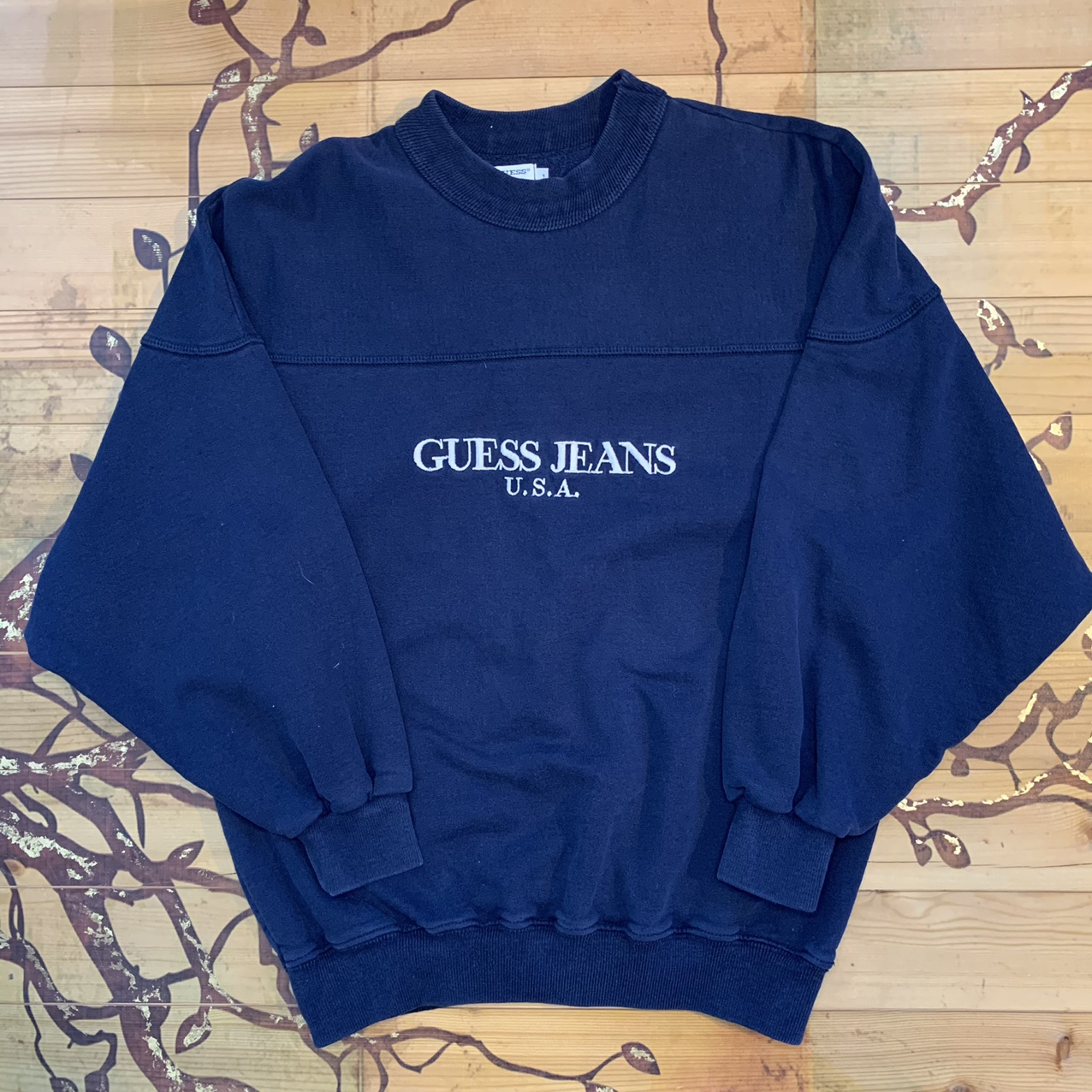 Product Image 1 - Basic Navy Guess Sweatshirt this is