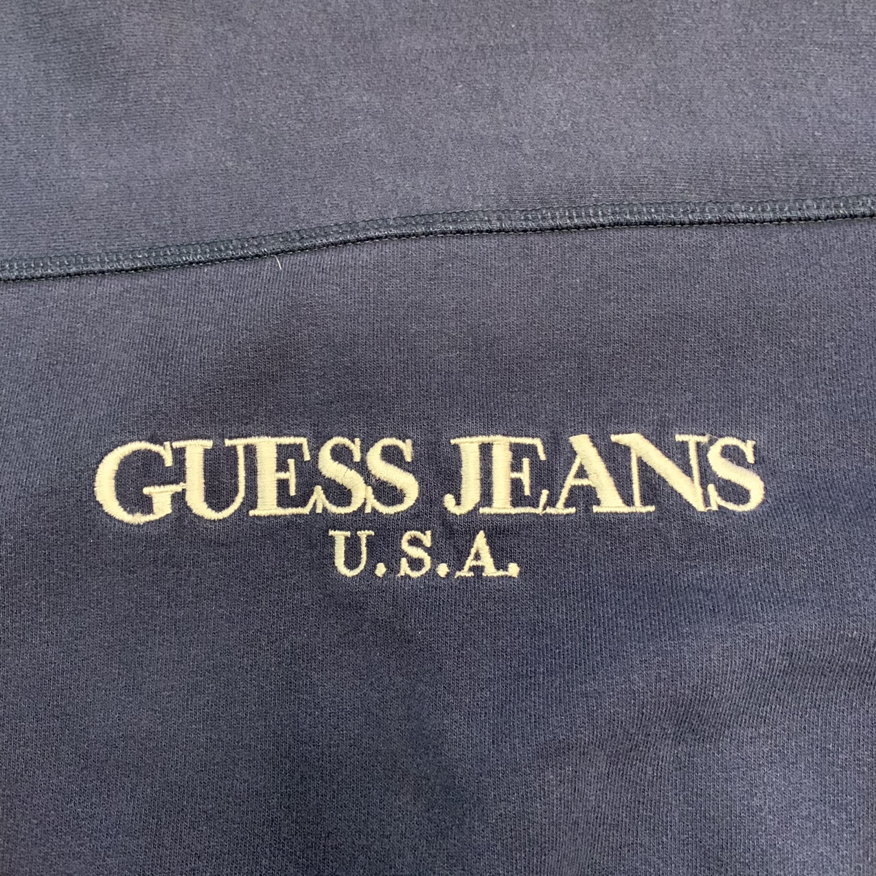 Product Image 2 - Basic Navy Guess Sweatshirt this is