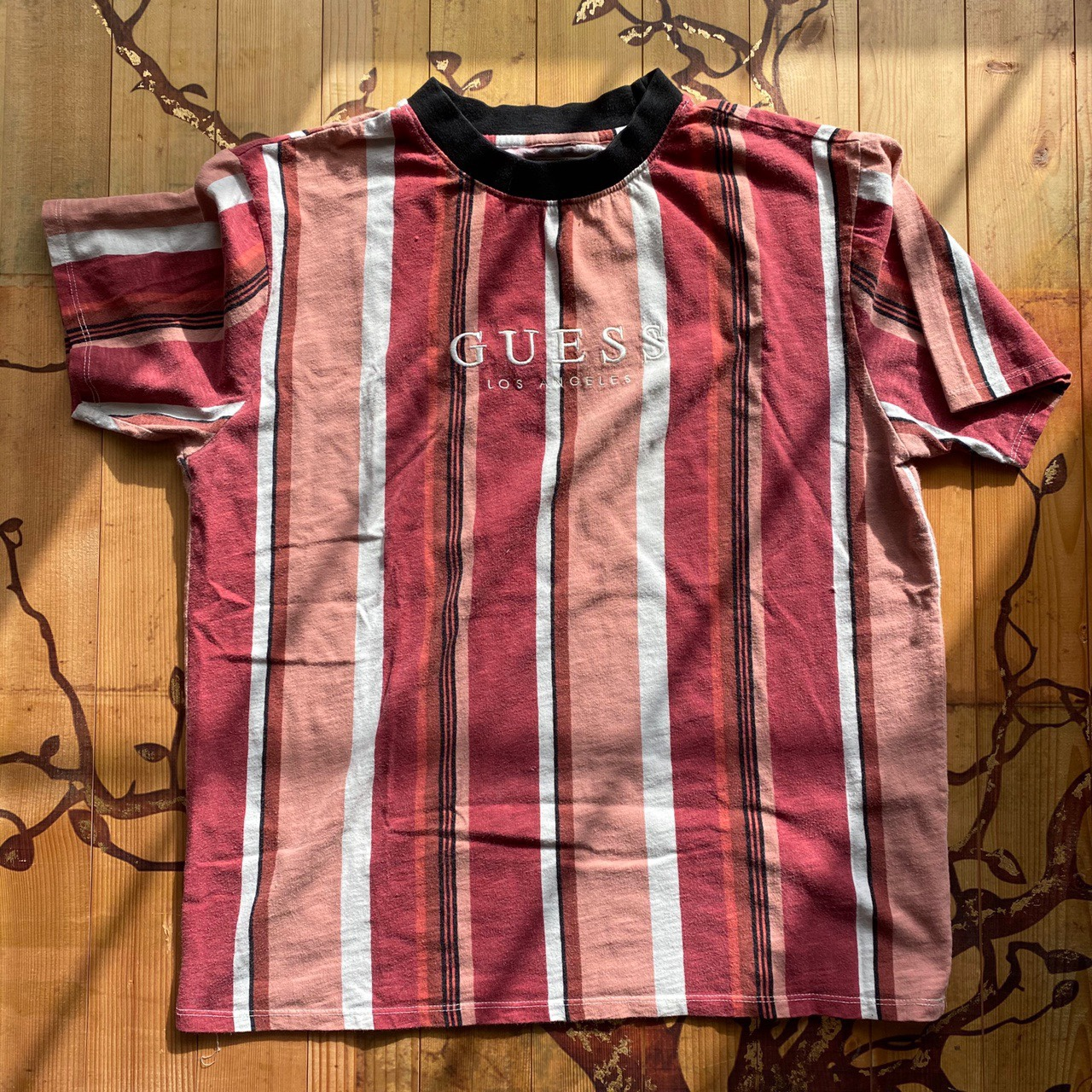Product Image 1 - Guess sayer stripe tee  This