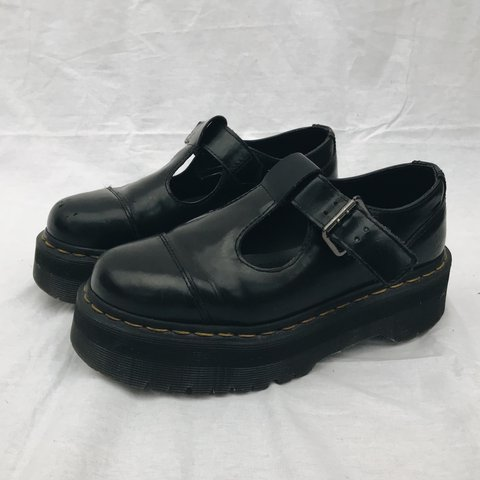 db81d6bb931 RESERVED. Dr Martens - Bethan T-Bar Platform Shoes   UK 4   - Depop