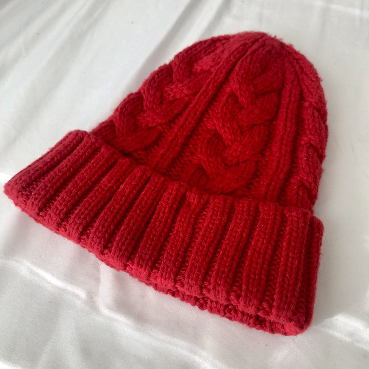 Red Beanie   Never worn cdd85101c06