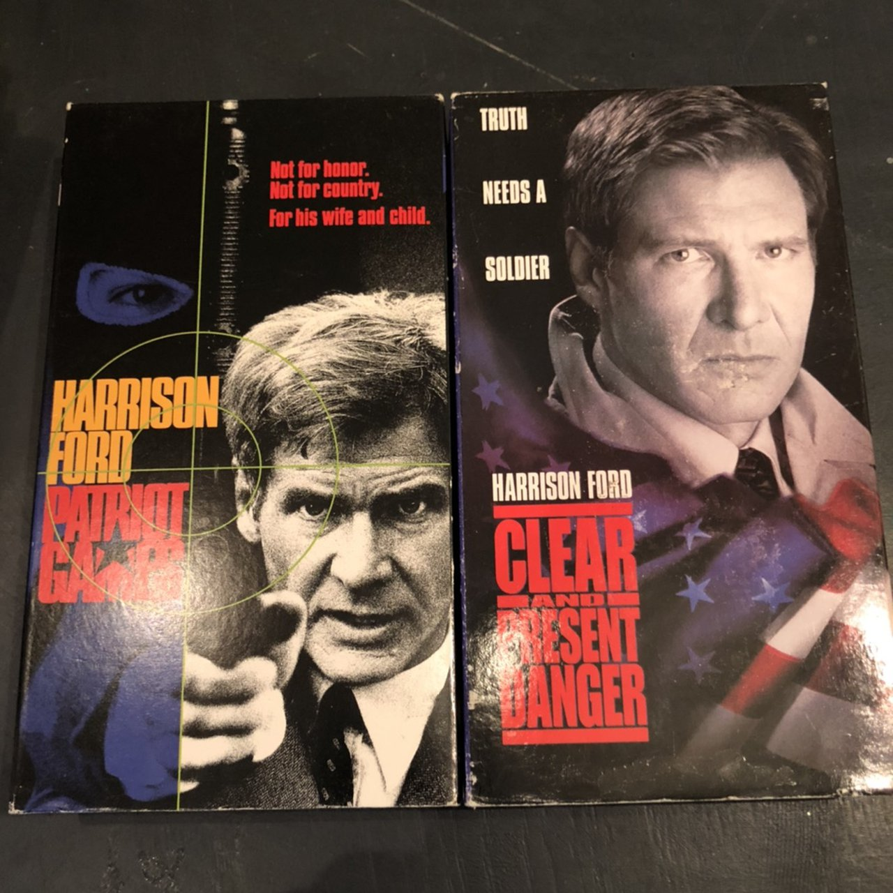 Patriot Games 1992 Clear And Present Danger Depop
