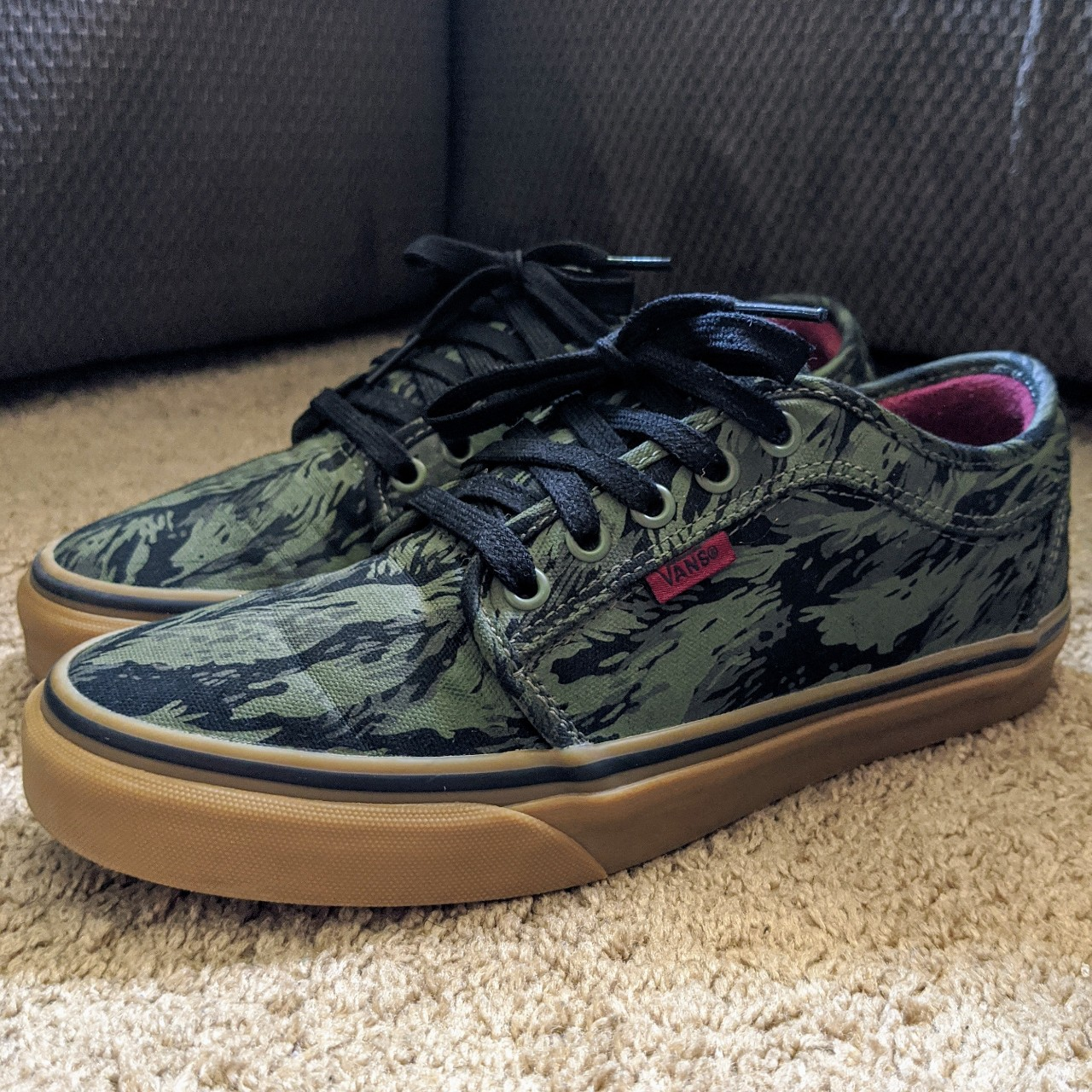 Vans Chukka Low Skate Shoes in Jungle