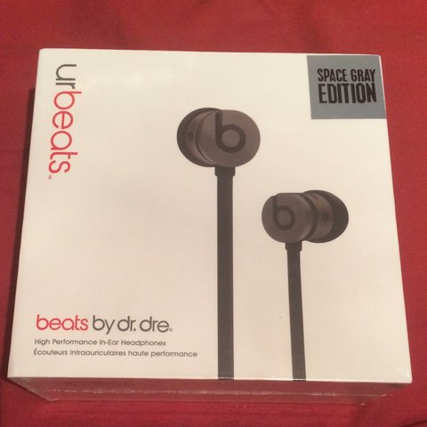 Cuffie URBEATS by Dr. Dre LIMITED EDITION Space Grey nuove - Depop 96ffe7e693fe