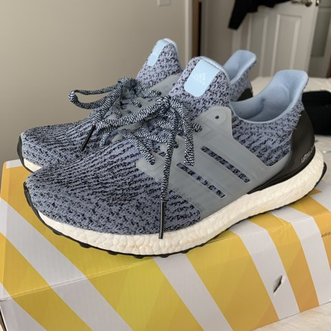 e3daeafe7 Adidas Women s Ultra Boost 3.0 in Tactile Blue. Excellent on - Depop