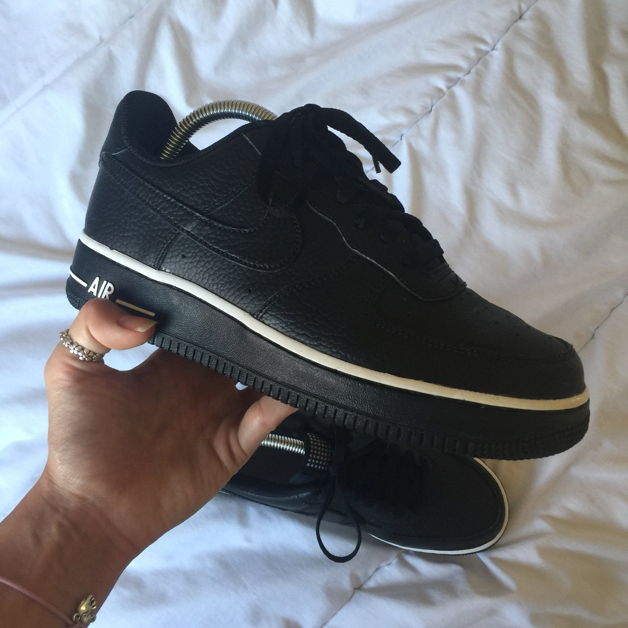 best loved 46110 1fbdc ellierosecarter. 9 months ago. Chelmsford, United Kingdom. Black and white nike  air force 1 07 pivot ...