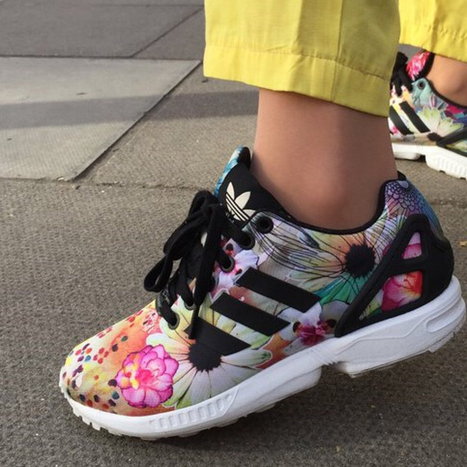 Adidas floral trainer size 4 , #adidas...