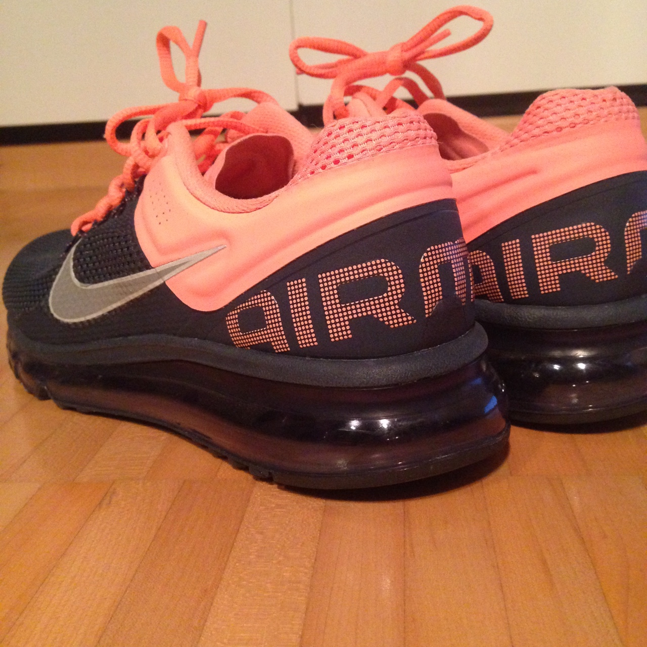 Nike Air Max Fitsole 2 + Armory NavyReflect Silver Depop