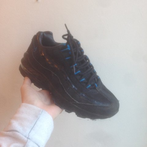cf34a59824 @milliec101. 3 years ago. United Kingdom. All Black Nike Air Max 95 95's 95s  ...