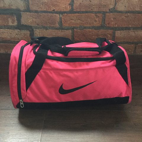 Nike Gym Weekend Bag in hot pink. Zero signs of wear.  nike - Depop 2c6cfa9dd