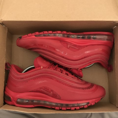 sneakers for cheap 665bf 1ab20    melissalorenx93x. 3 days ago. Bromsgrove, United Kingdom. Nike Air Max  97 Hyperfuse  Gym Red  ...